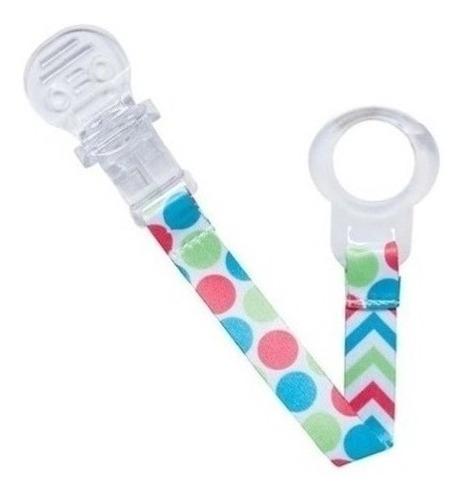 Prendedor De Chupeta Buba Clips Para Bebes Baby Colors 08557