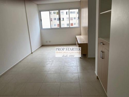 Imagem 1 de 12 de Oportunidade: Apartamento Em Prédio Novo Com 2 Dormitórios, 50 M² - Venda Por R$ 690.000 Ou Aluguel Por R$ 2.850/mês - Santa Cecília - Prop Starter - Ap0871