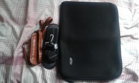 Capa Bolsa P/ Notebook Ultrabook 17 Polegadas Case Luva Alça