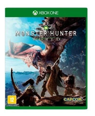 Monster Hunter World Xbox One Física Usado Madgames
