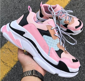 Tênis Dad Sneaker Shoes Crunchy Feminino E Masculino