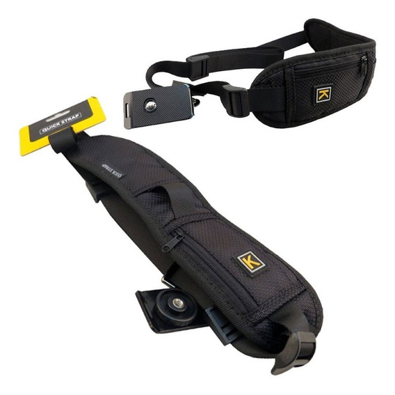 Alça De Ombro (quick Strap K)) Black Rapid Dslr Canon Nikon