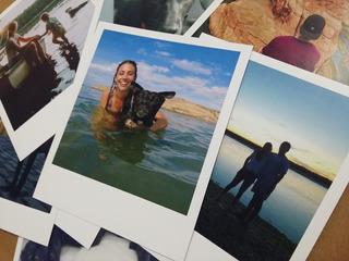 Imprimir 50 Fotos Estilo Polaroid De 10,5 X 9 Cm