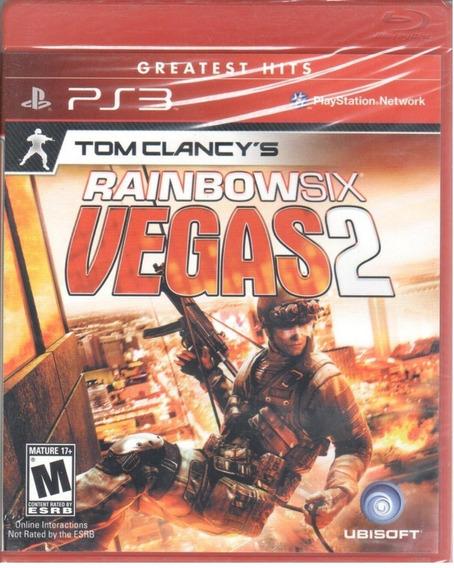 Jogo Rainbow Six - Vegas 2 (novo) Ps3