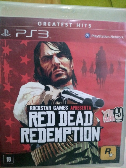 Red Dead Redemption Ps3 Físico