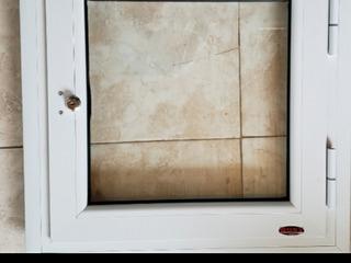 Puerta De Nicho 50x 50 Cm Con Cerradura. Doble Vidriado
