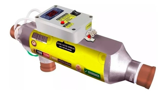 Aquecedor Piscina 40.000 Litros Automático Digital 10 Kw