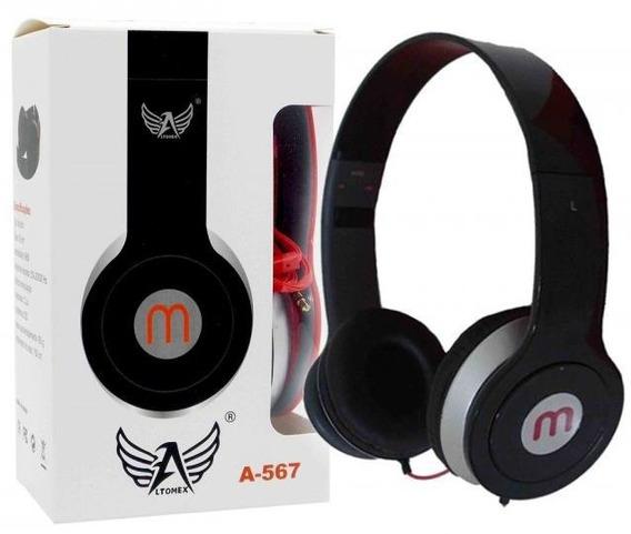 Super Promoção Headphone C/ Microfone Altomex Alta Qualidade