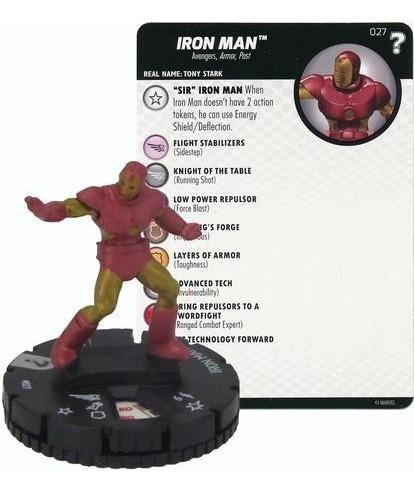 Heroclix - Iron Man #027 - 15th Anniversary What If?- Marvel