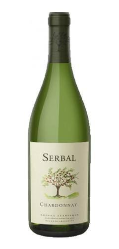 Imagen 1 de 1 de Vino Serbal Chardonnay Bodega Atamisque 750ml Local