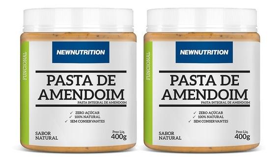 Combo 2 Pastas De Amendoim 400g Newnutrition