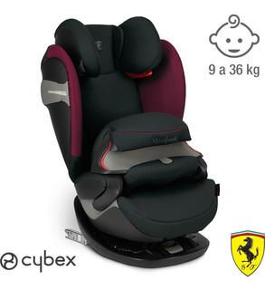 Butaca Silla De Bebés Auto Cybex Pallas S Iso Fix Ferrari