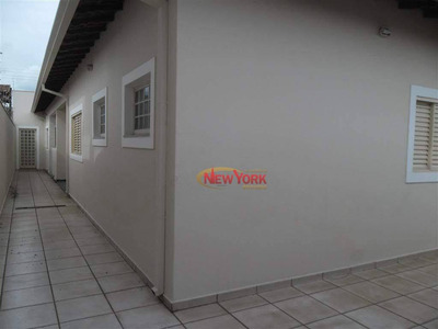 Casa Com 3 Dormitórios À Venda, 300 M² Por R$ 580.000 - Planalto Paraíso - São Carlos/sp - Ca0421