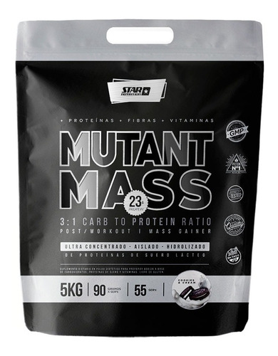 Mutant Mass 5 Kg Ganador De Masa Muscular- Star Nutrition