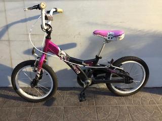 Bicicleta Infantil X Terra Nena Rod 16 Alu No Olmo Firebird