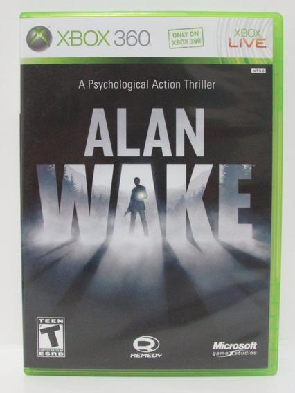 Alan Wake - Xbox 360 Completo E Original Mídia Física