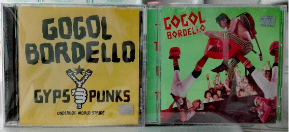 Gogol Bordello Lote 2 Cd NacGypsy Punks + Super Taranta