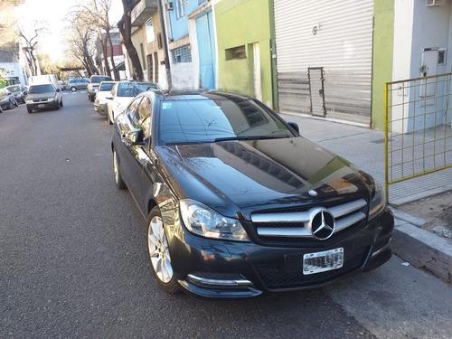 Mercedes-benz C250 Coupe Sport Blue Efficiency 2014