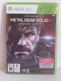 Metal Gear Solid V Ground Zeroes Original Lacrado Xbox 360
