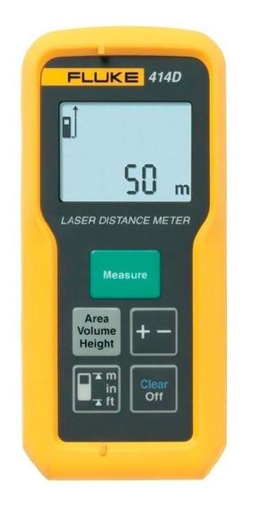 Trena A Laser Fluke 414d 50m - 3 Anos De Garantia 4235469