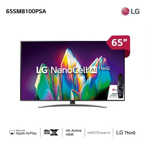 Smart Tv 65  Nanocell LG 65sm8100 - Garantía Oficial