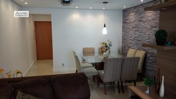 Apartamento A Venda No Bairro Vila Bocaina Em Mauá - Sp. - 2422-1