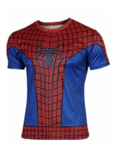 T-shirt Deportiva Superheroes Marvel Spiderman Xtreme P