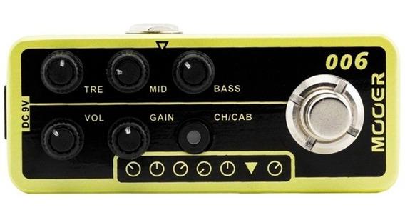 Pedal Para Guitarra Mooer Pre Amp Classic Deluxe M006