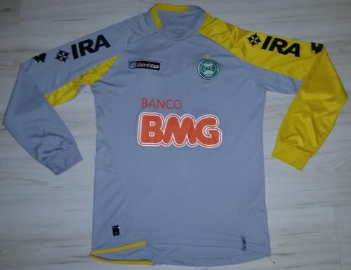 Camisa De Jogo De Goleiro Coritiba 2011 #1 Lotto Bmg Ira