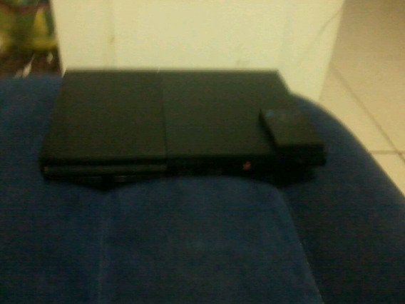 Playstation 2 + 5 Jogos Memory Card E Um Controle