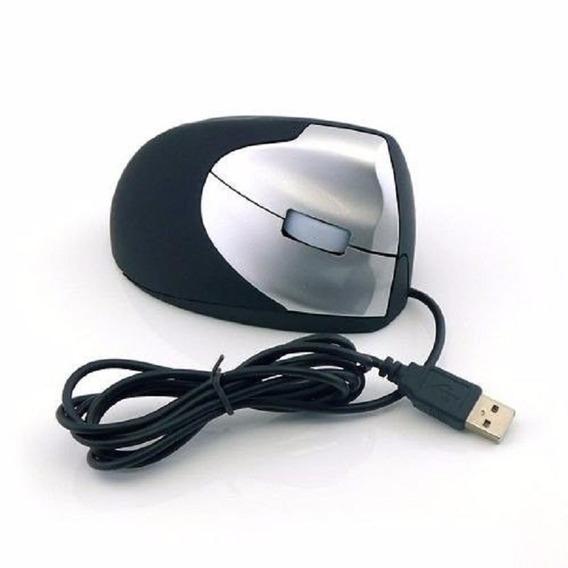 Mouse Óptico Ergonômico Vertical Usb - Previne Tendinite