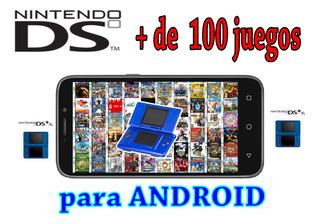 Pack Nintendo Ds 100 Juegos + Emulador + Regalo Para Android