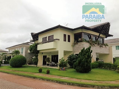 Casa Luxo Em Condomínio Fechado À Venda - Praia De Intermares - Cabedelo - Ca0091 - Pb - Ca0091