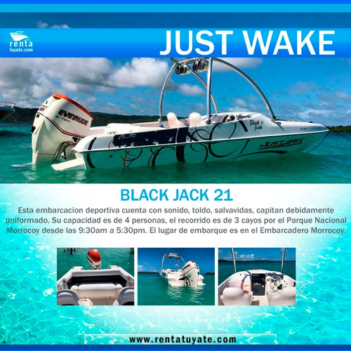 Alquiler Lanchas Y Yates Black Jack 21