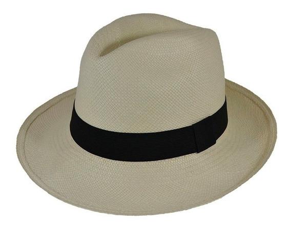 Chapéu Panamá Legítimo Original Montecriste Melhor Qualidade
