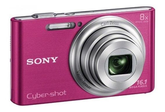 Sony Cyber-shot W730 Rosa - Em Excelente Estado
