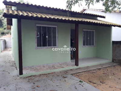 Casa 2 Quartos (1 Suíte), Próx. A Rodovia, Raphaville, Maricá - Ca2960