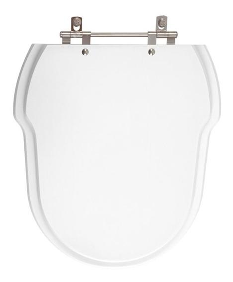 Assento Sanitário Poliéster Hampton Branco Para Louça Incepa