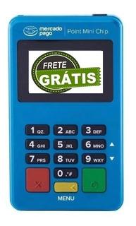 Lançamento Point Mini Chip - Maquina De Cartão De Crédito E Débito Com Wifi E Chip Do Mercado Pago - Envio Grátis