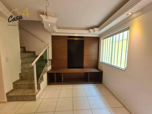 Imagem 1 de 16 de Sobrado Em Condomínio Fechado Com 2 Dormitórios À Venda Por R$ 265.000 - Vila Ponte Rasa - São Paulo/sp - So0616