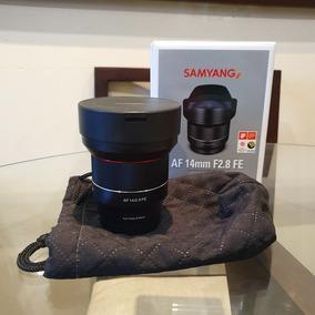Samyang 14mm 2.8 Sony E Mount Foco Automático