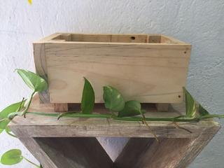 Cajas De Madera De Rusticas Y Pulidas