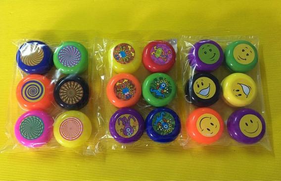 Yoyo Plastico Souvenirs X 45 Unidades