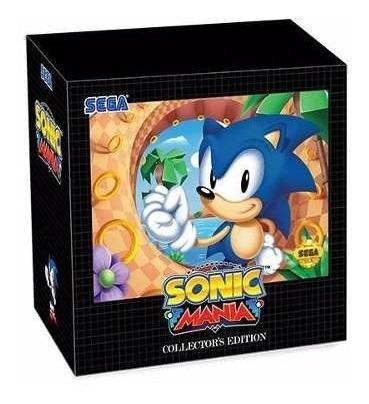 Jogo Sonic Mania Ediçao De Colecionador Original Para Ps4