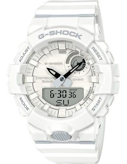 Relógio Casio G-shock G-squad Gba-800-7adr Passos Bluetooth