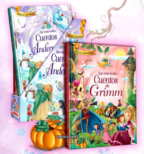 Libros Los Más Bellos Cuentos De Grimm Y Anderson