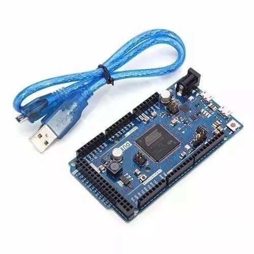 Arduino Due R3 + Cabo Usb Atsam3x8e Arm Cortex-m3 32bits