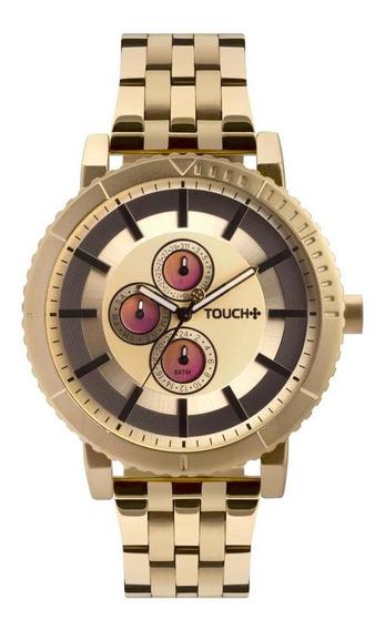 Relógio Touch Unissex Rosé Tw6p27ab/4d