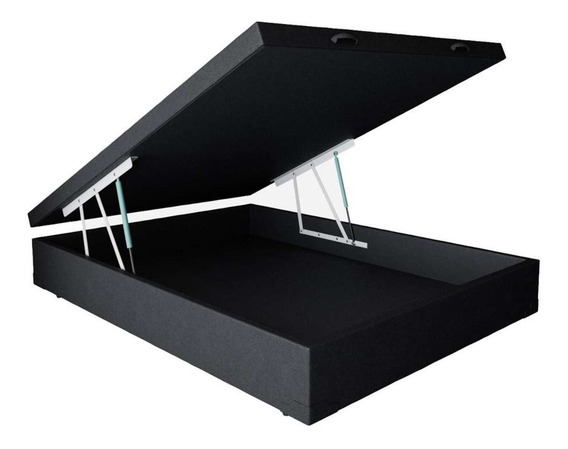 Base Box Baú Casal (1,38 X 1,88 M) - Somos Fabricantes