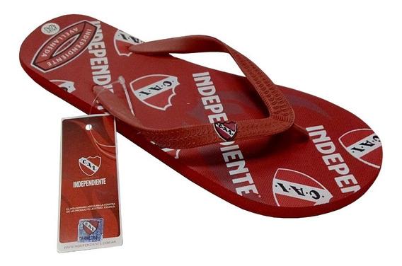Independiente Ojotas Talles Del 40 Al 45 Licencia Oficial